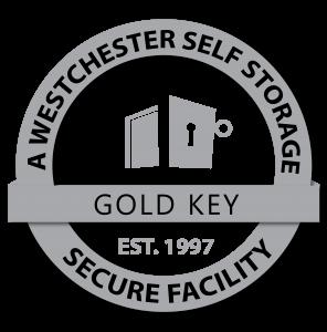 Peekskill Self Storage a Westchester Self Storage facility grey logo
